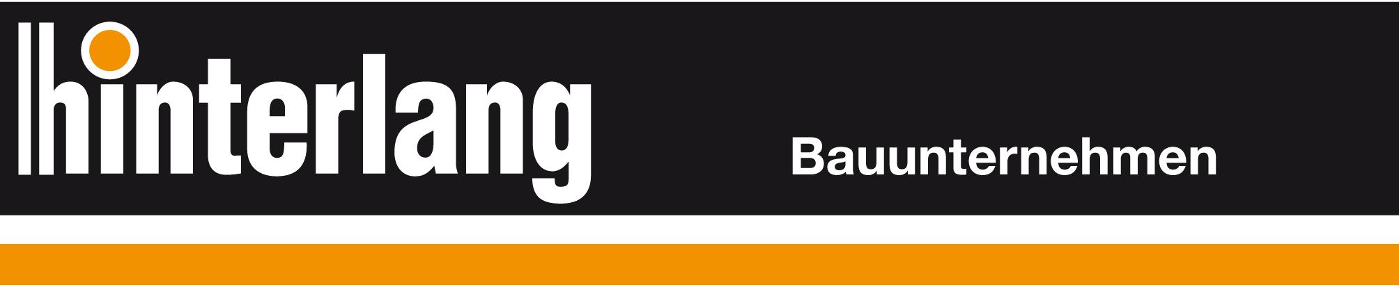 Logo des Bauunternehmens Hinterlang